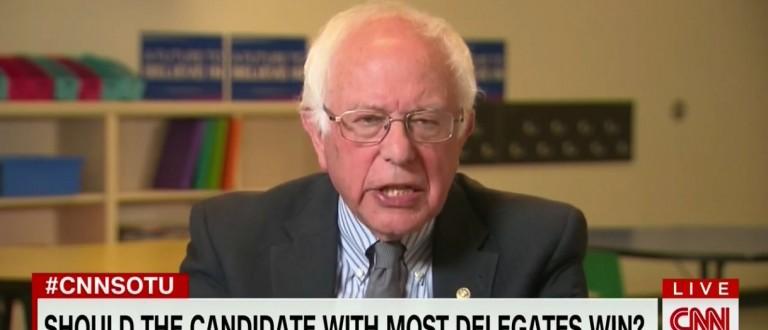 Bernie Sanders on CNN (CNN)