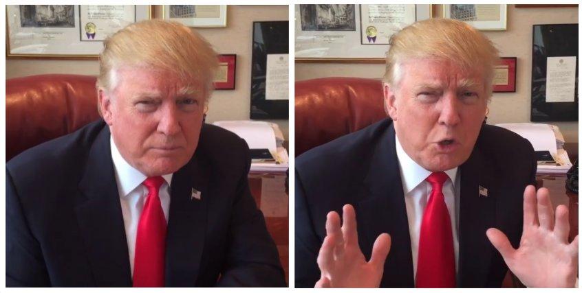 "Donald Trump blasts ""dishonest media"" (Instagram)"