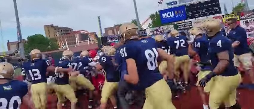 NYPD Vs. FDNY Charity Football Game Erupts Into All-Out Melee (YouTube)