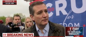 Cruz: Trump And Clinton Would Be An Embarrassment To America [VIDEO]