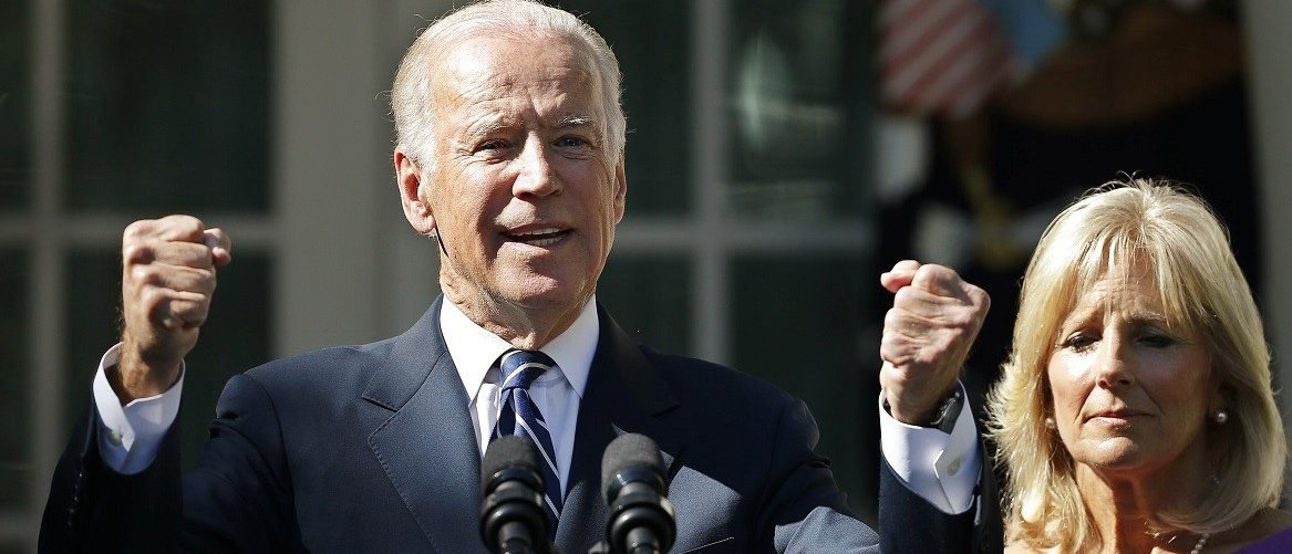 U.S. Vice President Biden announces he will not seek the 2016 Democratic presidential nomination during an appearance in Rose Garden of the White House in Washington