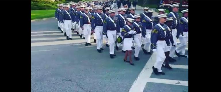 Female West Point Cadet (Facebook Screengrab)