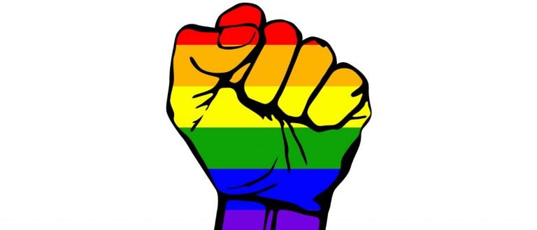 gay pride fist Shutterstock/RRA79