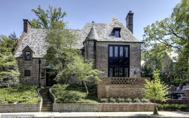 The Obamas' post-presidency, D.C. mansion (Redfin.com)