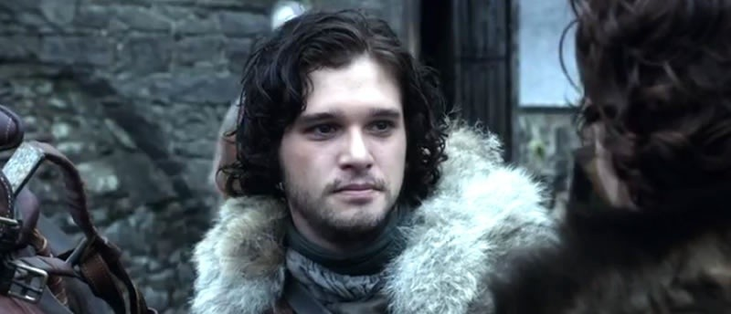 Jon Snow is alive on Game of Thrones