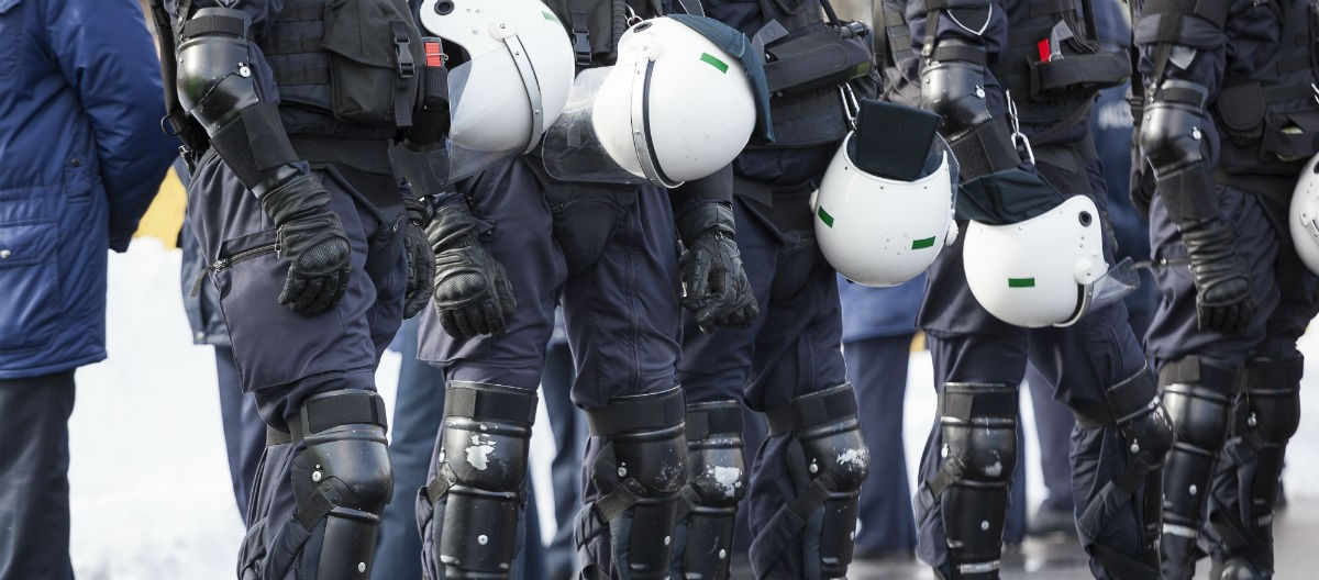 Police, Ints Vikmanis, Shutterstock