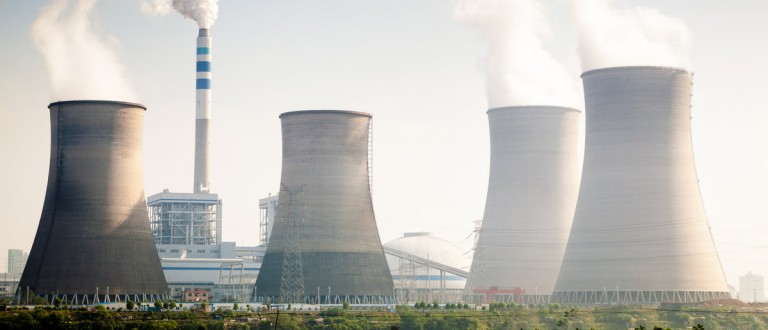 Cooling tower of nuclear power plant Dukovany. Shutterstock.com/ zhangyang13576997233