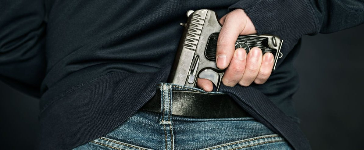 Handgun, ImageFlow, Shutterstock