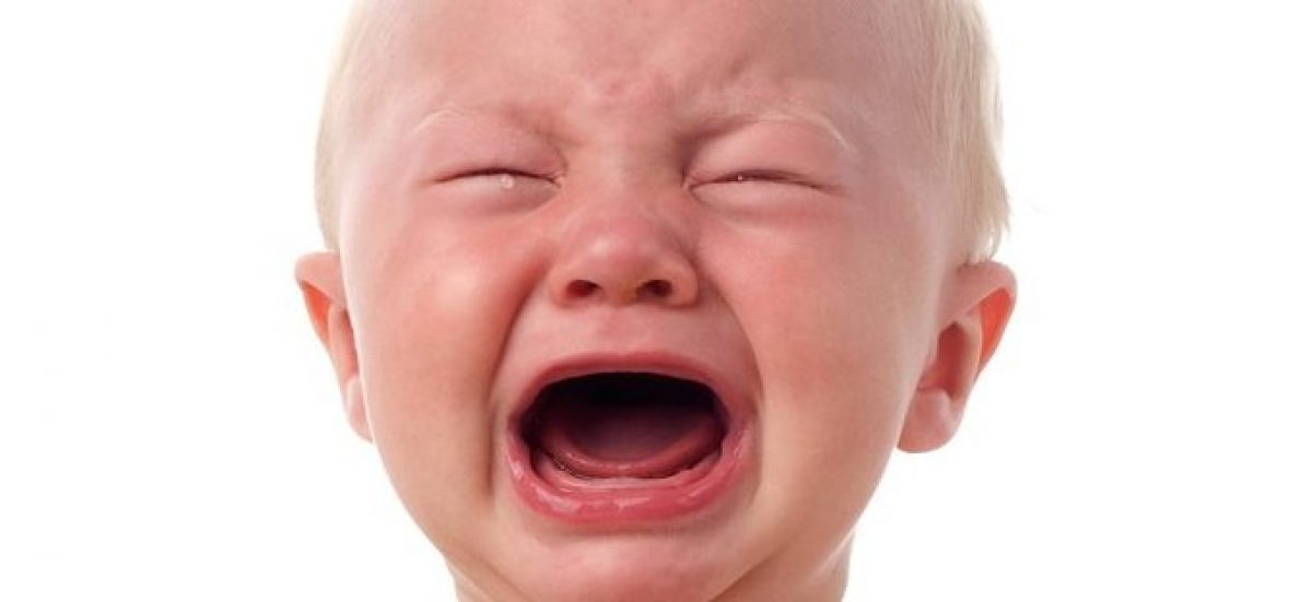 Crying baby, courtesy of Shutterstock