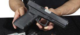 Salesman Selling Pistols, Courtesy of Shutterstock