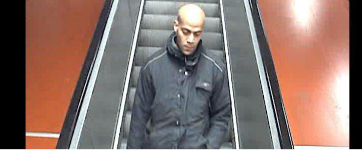 CCTV captures photo of migrant who threw Swedish man into train. (Shutterstock)