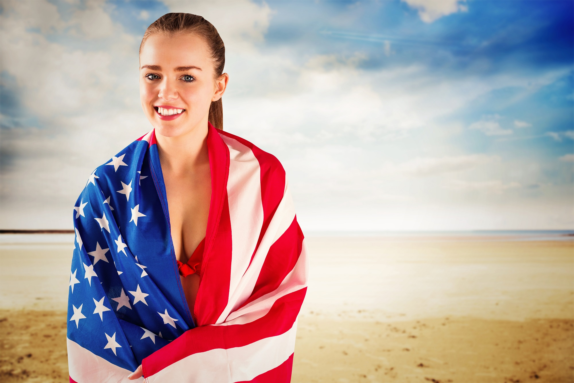 American flag bikini 6 Shutterstock wavebreakmedia