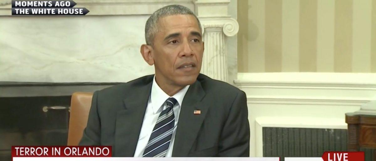 Barack Obama, Screen Grab MSNBC, 6-13-2016