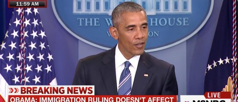 Barack Obama, Screen Grab MSNBC, 6-23-2016