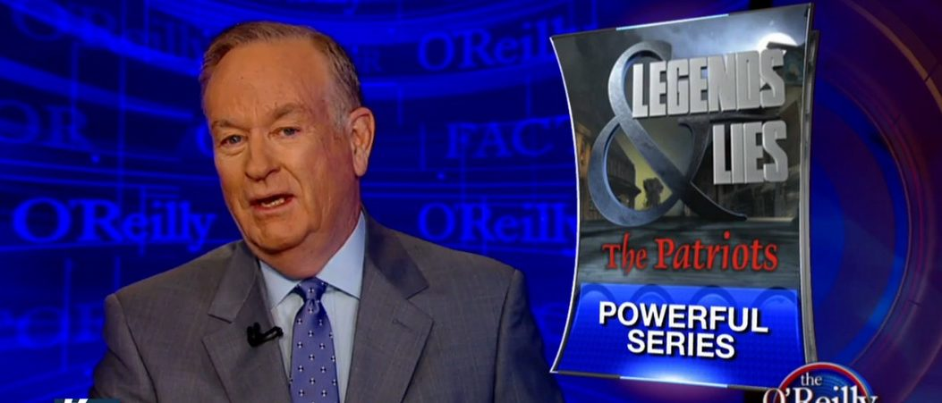 Bill O'Reilly, Screen Grab FNC, 6-3-2016