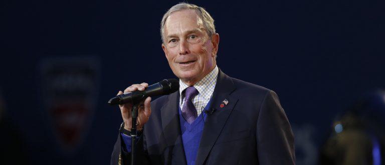NEW YORK - AUGUST 27: Mayor Michael Bloomberg