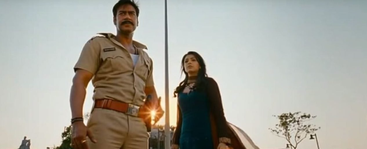 """Fight scene from Bollywood movie """"Singham."""" (Screengrab YouTube)"""