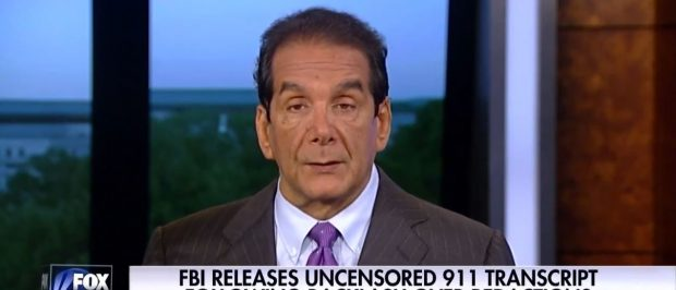 Charles Krauthammer, Screen Grab Fox News, 6-20-2016