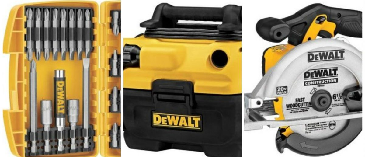 Save $20 on DeWalt power tools until Father's Day (Photos via Amazon)