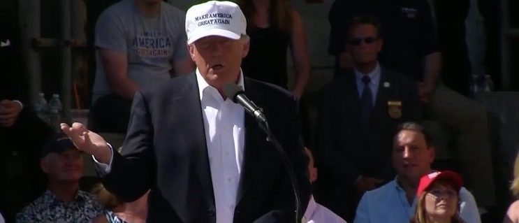 Donald Trump, Screen Grab Fox 10 YouTube, 6-30-2016
