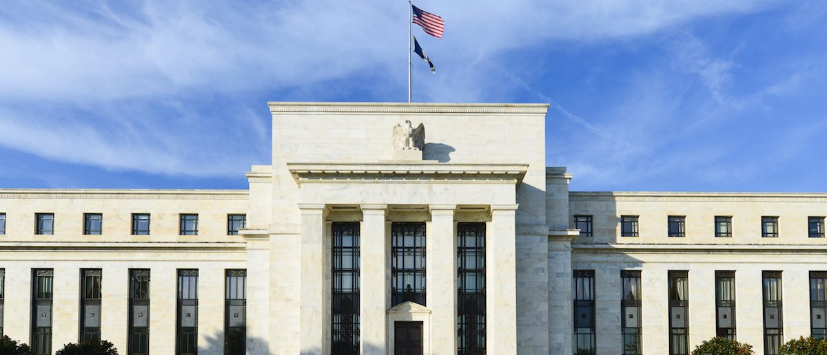 Federal Reserve Building in Washington DC, United States
