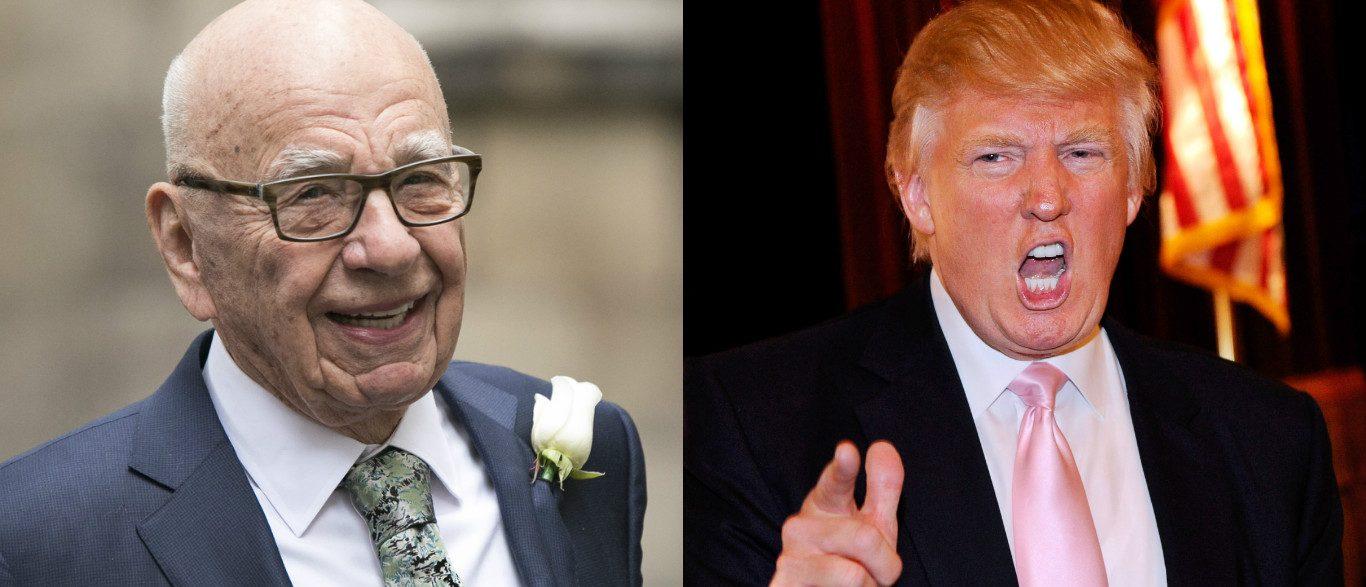 Donald Trump on Rupert Murdoch