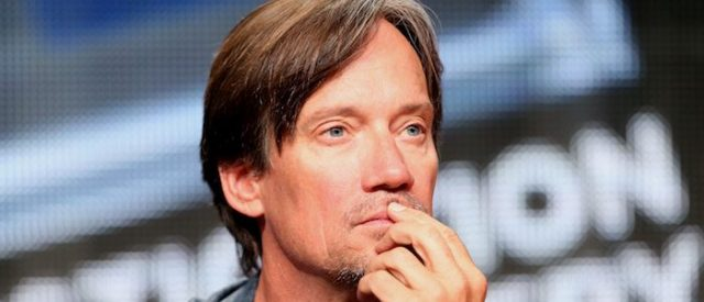 "BEVERLY HILLS, CA - JULY 09:  Actor Kevin Sorbo speaks onstage at the ""Heartbreakers"" panel during the Discovery Communications portion of the 2014 Summer Television Critics Association at The Beverly Hilton Hotel on July 9, 2014 in Beverly Hills, California.  (Photo by Frederick M. Brown/Getty Images)"