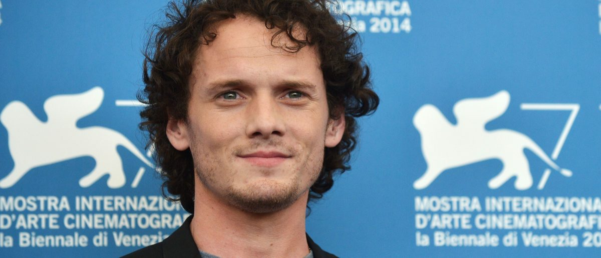 "Actor Anton Yelchin poses during the photocall of the movie ""Burying The Ex"" presented out of competition at the 71st Venice Film Festival on September 4, 2014 at Venice Lido. (TIZIANA FABI/AFP/Getty Images)"
