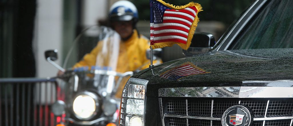 Presidential motorcade (Getty Images)