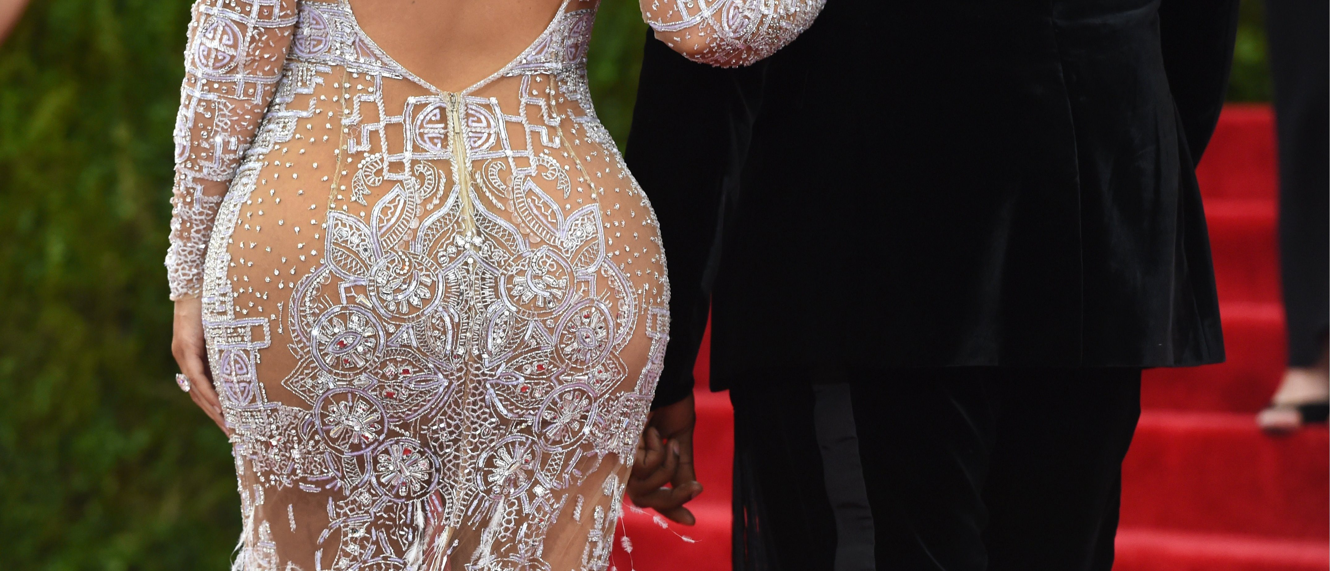 Celebrities in see through dresses