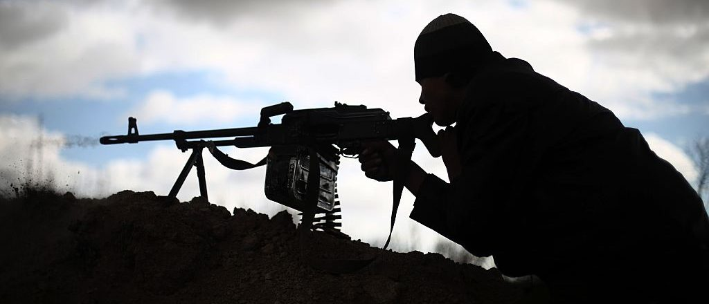 Rebel soldier in Syria (Getty Images)