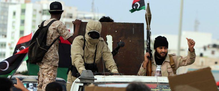 Armed Libyan Men