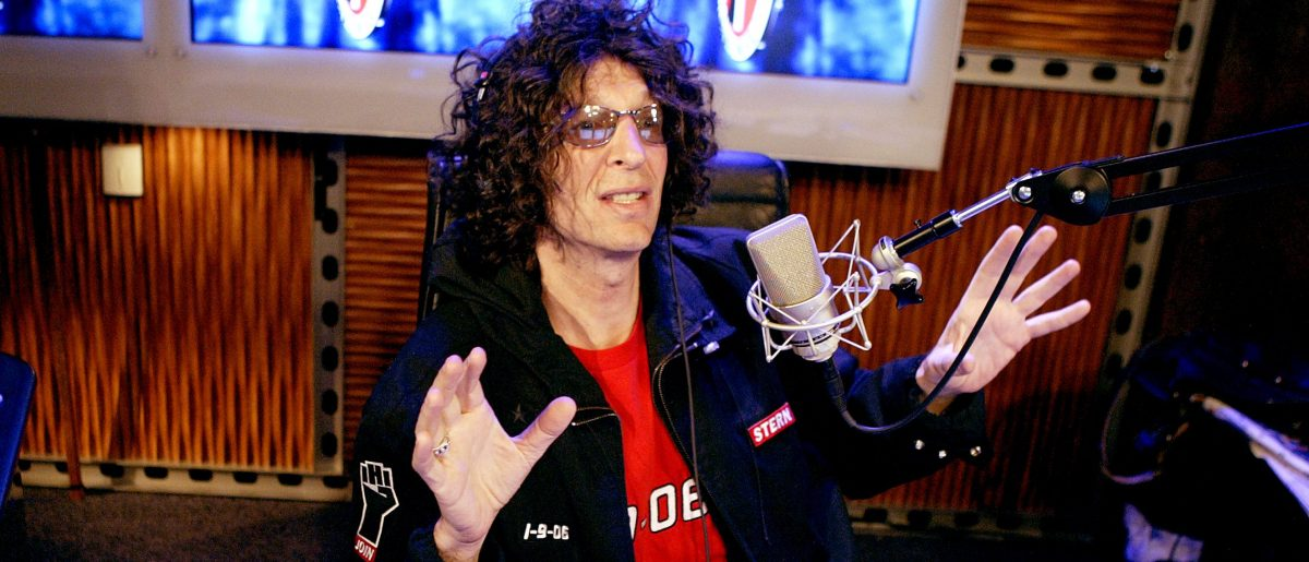 Howard Stern on guns