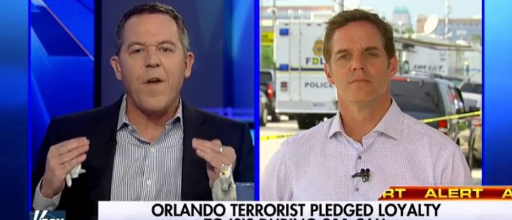 Greg Gutfeld, Bill Hemmer, Screen Grab FNC, 6-13-2016