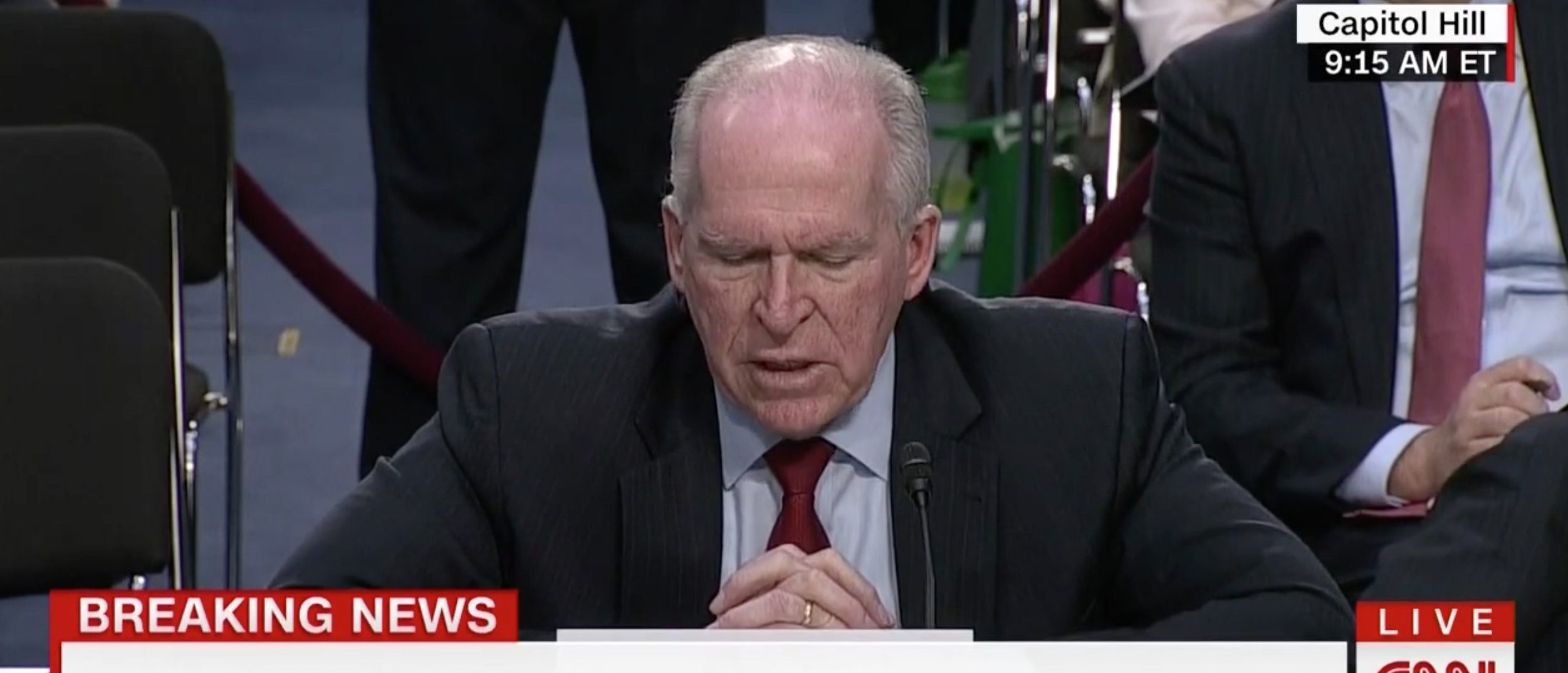 John Brennan, Screen Grab CNN, 6-16-2016