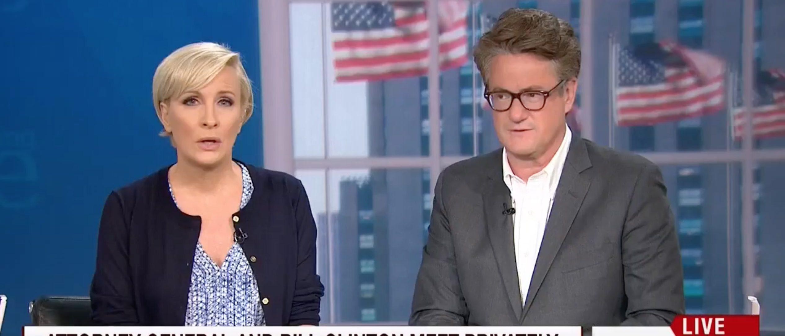 Mika Brzezinski, Joe Scarborough, Screen Grab MSNBC, 6-30-2016