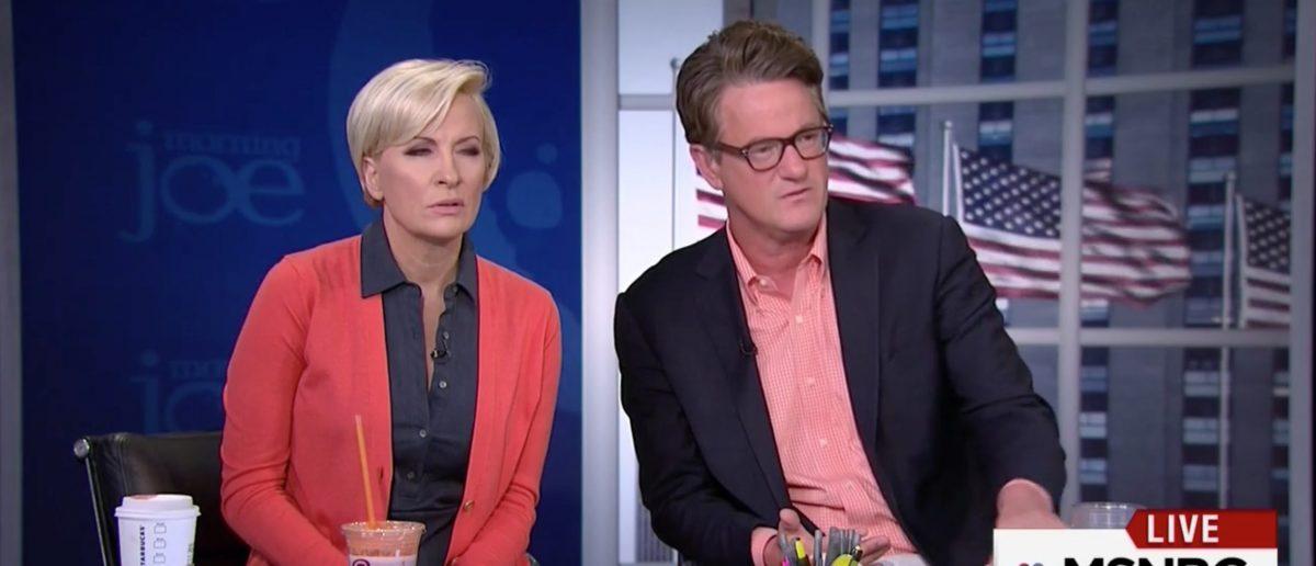 Mika Brzezinski, Joe Scarborough, Screen Grab MSNBC, 6-7-2016