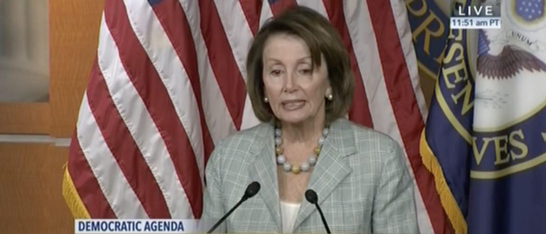 Nancy Pelosi, Screen Grab CSPAN, 6-23-2016