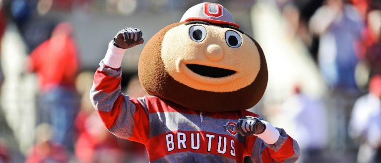 Ohio State mascot Getty Images /Jamie Sabau
