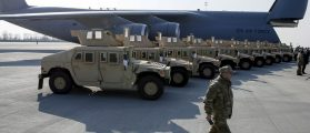 Someone Stole A Humvee From The Army And Parked It In A Residential Garage