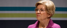 Senator Elizabeth Warren turns up her nose (Photo: JONATHAN ERNST/ REUTERS)