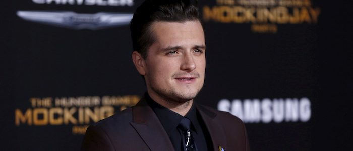 """Cast member Josh Hutcherson poses at the premiere of """"The Hunger Games: Mockingjay - Part 2"""" in Los Angeles, California November 16, 2015. The movie opens in the U.S. on November 20. (photo: REUTERS/Mario Anzuoni )- RTS7H7J"""