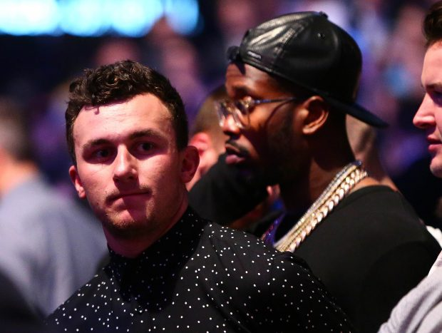 Johnny Manziel Mandatory Credit: Mark J. Rebilas-USA TODAY Sports - via Reuters