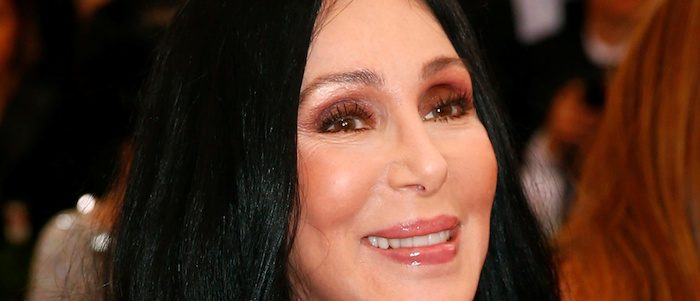 """Cher arrives at the Metropolitan Museum of Art Costume Institute Gala 2015 celebrating the opening of """"China: Through the Looking Glass,"""" in Manhattan, New York May 4, 2015. (photo: REUTERS/Lucas Jackson)"""
