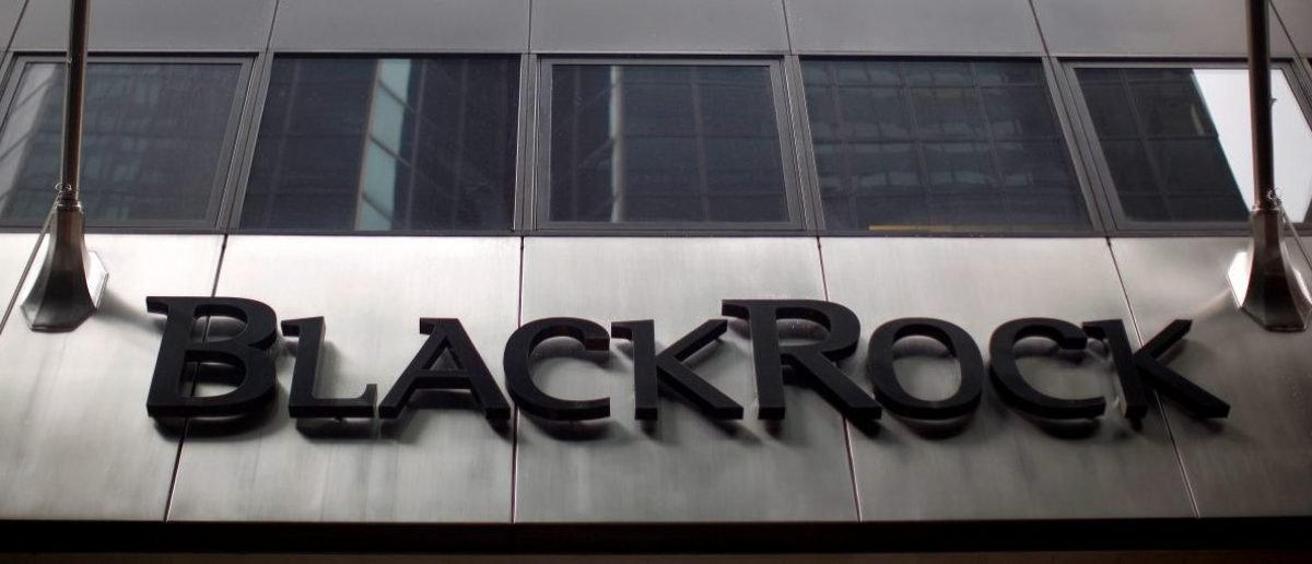 A BlackRock building is seen in New York June 12, 2009. REUTERS/Eric Thayer/File Photo - RTSG59I