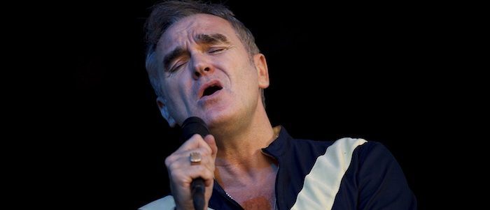 Morrissey performs at the Firefly Music Festival in Dover, Delaware June 19, 2015. According to organizers, attendance exceeded 90,000 for the four-day festival, which featured more than 110 acts, and was set in 105 acre grounds of the Dover International Speedway. (photo: REUTERS/Mark Makela) - RTX1HCLM