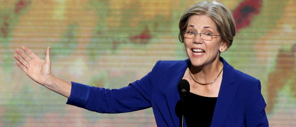 Elizabeth Warren, candidate for the U.S. Senate in Massachusetts, addresses the second session of the Democratic National Convention in Charlotte, North Carolina, U.S. September 5, 2012. REUTERS/Jason Reed/File Photo - RTX2B6HU