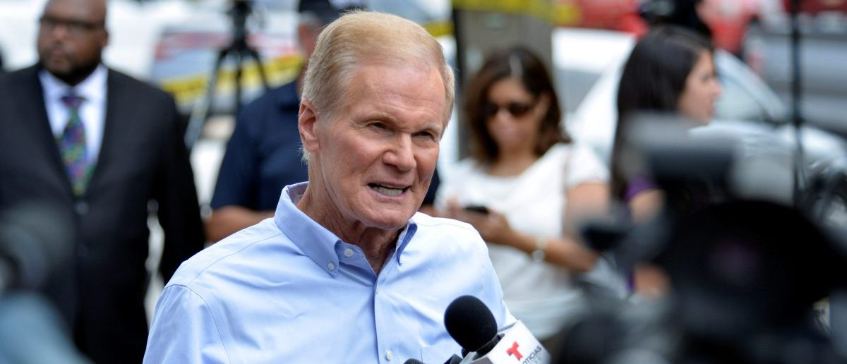U.S. Senator Bill Nelson speaks at a news conference after a shooting attack at Pulse nightclub in Orlando, Florida, U.S. June 12, 2016. REUTERS/Kevin Kolczynski