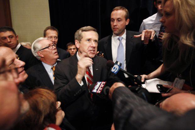 Republican U.S. Senate candidate Mark Kirk