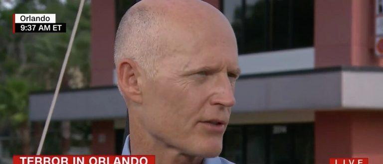Rick Scott, Screen Grab CNN, 6-17-2016